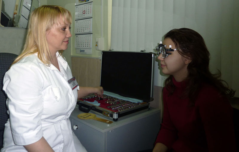 Николаев улучшить зрение